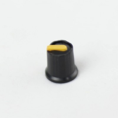 Capuchon de potentiomètre clipsable / Couleur Jaune