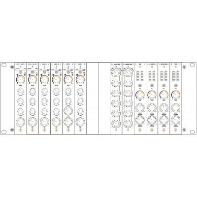 Modulaire 4U Setup 4 - 2PHLN + 2LINE + 2MIC + 12-B EQ +...