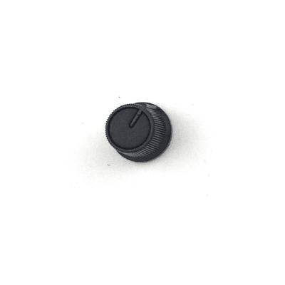 Capuchon de potentiomètre plastique clipsable / Noir /...