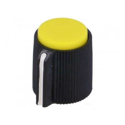 Screw Potentiometer Knob / Yellow