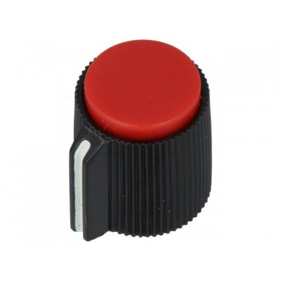 Capuchon de potentiomètre à vis / Couleur Rouge