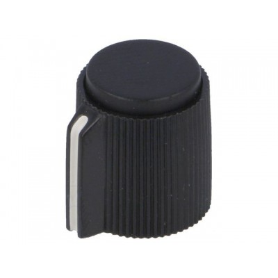 Screw Potentiometer Knob / Black