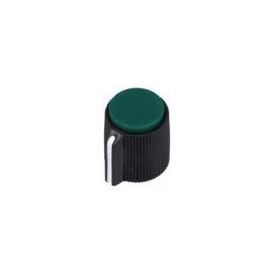 Capuchon de potentiomètre à vis / Couleur Verte