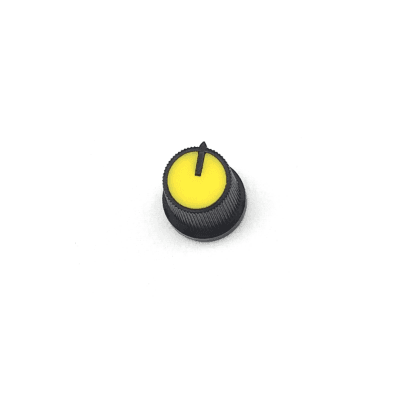Snap-In Potentiometer Knob / Yellow