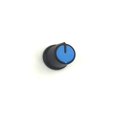 Snap-In Potentiometer Knob / Blue