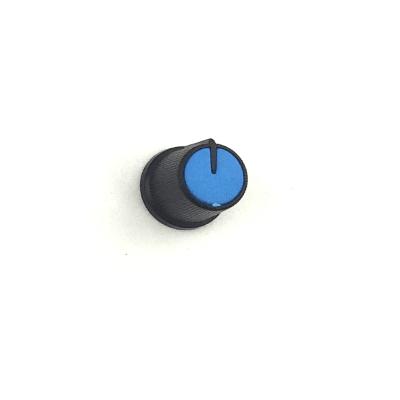 Capuchon de potentiomètre plastique clipsable / Bleu /...