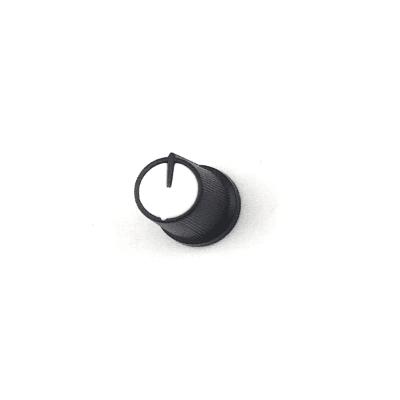 Capuchon de potentiomètre plastique clipsable / Blanc /...