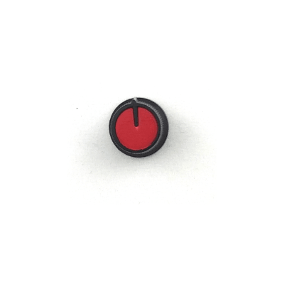 Snap-In Potentiometer Knob / Red