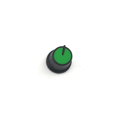 Snap-In Potentiometer Knob / Green