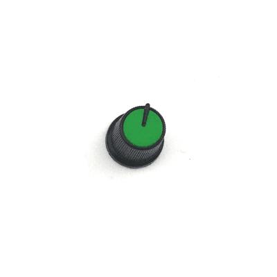 Capuchon de potentiomètre plastique clipsable / Vert /...