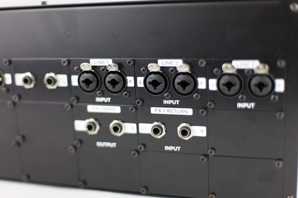 Modular Audio Processor Back view 2
