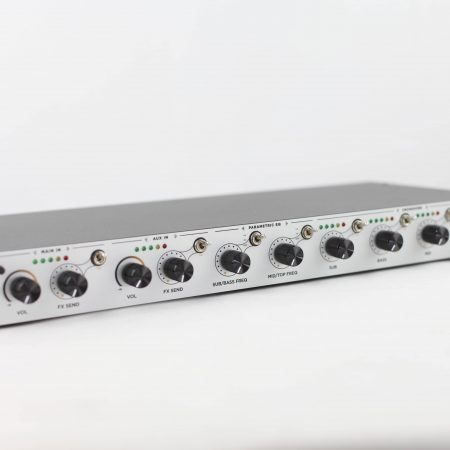 Rack 1U Stereo Preamp